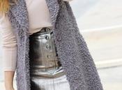 Como combinar falda metálica