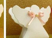 Cajitas angelitos foami para bautizos primera comunión