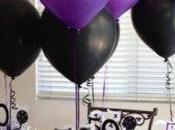Cuatro ideas adornos para decoracion globos mesas