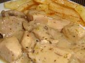 Pollo salsa mostaza