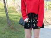 Outfit primavera falda bordada