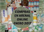 Compras Arenal online Enero 2017.