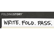 FoldingStory, juego narración grupo caracteres @foldingstory