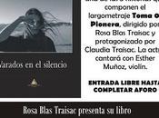 Presentación novela, varados silencio Rosa Blas Traisac