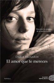 """amor mereces"""" Daria Bignardi"""