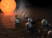 sistema siete planetas tamaño terrestre, tres ellos zona habitable