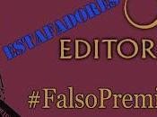 Estafa Premio Editorial #FalsoPremioOz