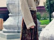 Falda midi vintage