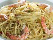 Receta espaguetis gambas
