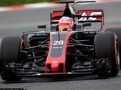 Magnussen contento tras completar vueltas Barcelona