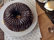 Bundt Cake vainilla chocolate blanco