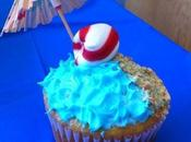 Cuatro imagenes decoracion cupcakes para cumpleaños