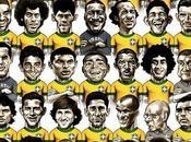 Dibujos imagenes futbolistas caricatura para imprimir