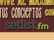 Vive máximo conciertos Setlist.fm