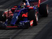 Daniil Kvyat muestra contento tras completar vueltas test