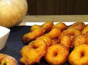 Buñuelos típicos Valencianos calabaza asada