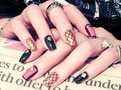 Cuatro imagenes modelos nuevos uñas decoradas moda