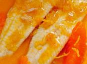 Lenguado salsa mandarinas