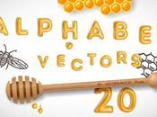 Nuevos Diseños Gratis Alfabetos Vectoriales