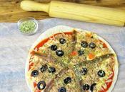 Pizza sarten pizza tonno atun anchoas horno