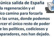 Carta ciudadano confundido, cree pueblo responsable como políticos drama español