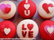 Cuatro hermosas imagenes cupcakes amor para enamorados