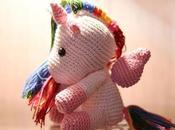 Unicornio ganchillo