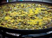 Paella valenciana pollo conejo (vídeo)