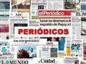 Titulares. Periodismo política.
