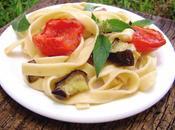 Fettucine Tomate Berenjena