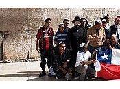 Mineros chilenos gracias Dios Jerusalén