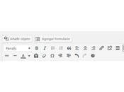 Añadir opción estilos botones ocultos editor WordPress