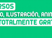 cursos linea (Diseño, Ilustración, Animación clases gratis