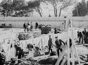 Fotos antiguas: Construyendo cárcel Carabanchel (1942)