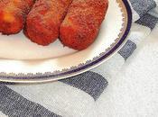 Croquetas setas pollo rustido