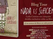 Blog Tour: Nada suficiente Lydia Carreras