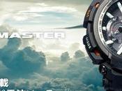 Casio G-SHOCK presenta reloj para aviadores GRAVITYMASTER GPW2000-1A Bluetooth