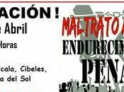 Maltrato animal, endurecimiento penal. Manifestación Madrid. Abril