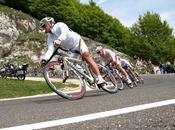 Trazar curvas descenso bicicleta carretera