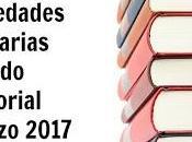 Novedades literarias Chiado Editorial Marzo 2017