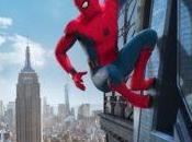 trepamuros encaramado Torre Vengadores otro póster Spider-Man: Homecoming