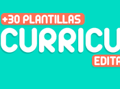 plantillas curriculums creativos editables 2017 (parte