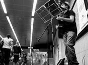 Breo Martínez, músico metro Barcelona
