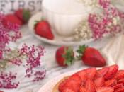 Tarta fresas almendra