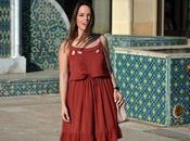 Outfit Brick dress