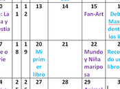 Calendario Abril Vídeo Marzo