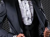 Esmoquin moda italiano medida negro microdiseño