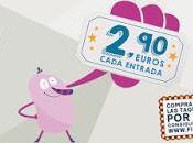 Fiesta Cine. Entradas 2,90 euros