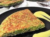 Juego blogueros 2.0: tortilla brócoli calabacín mayonesa mango