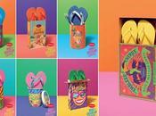 Havaianas lanza nuevos packaging mucho color creatividad